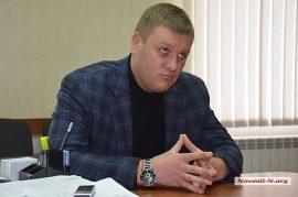 Начальник Центрального отдела полиции Николаева Руслан Осипенко
